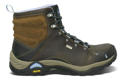 Womens Ahnu Montara Boot Waterproof Hiking Shoe - Smokey Brown 10.5