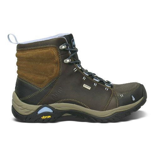 Womens Ahnu Montara Boot Waterproof Hiking Shoe - Smokey Brown 10.5