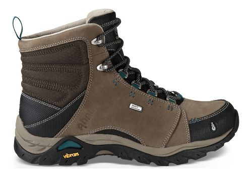Womens Ahnu Montara Boot Waterproof Hiking Shoe - Brown/Black 9.5