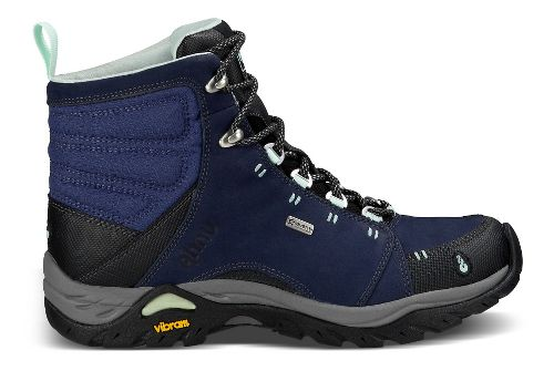 Womens Ahnu Montara Boot Waterproof Hiking Shoe - Midnight Blue 6.5