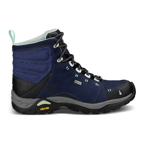 Womens Ahnu Montara Boot Waterproof Hiking Shoe - Midnight Blue 8