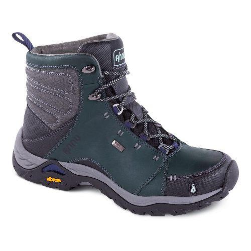 Womens Ahnu Montara Boot Waterproof Hiking Shoe - Muir Green 9.5