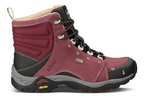 Womens Ahnu Montara Boot Waterproof Hiking Shoe - Red Mahogany 11