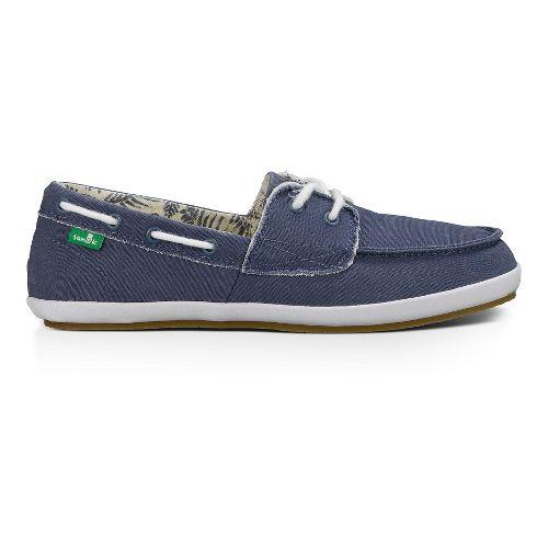 Womens Sanuk Sailaway 2 Fray Casual Shoe - Slate Blue 10