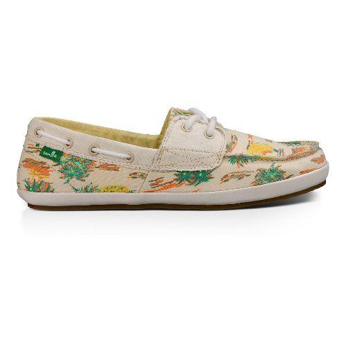Womens Sanuk Sailaway 2 Vacay Casual Shoe - Natural Pineapple 7