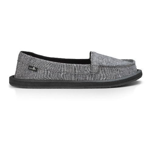 Womens Sanuk Shorty TX Casual Shoe - Charcoal Chambray 6