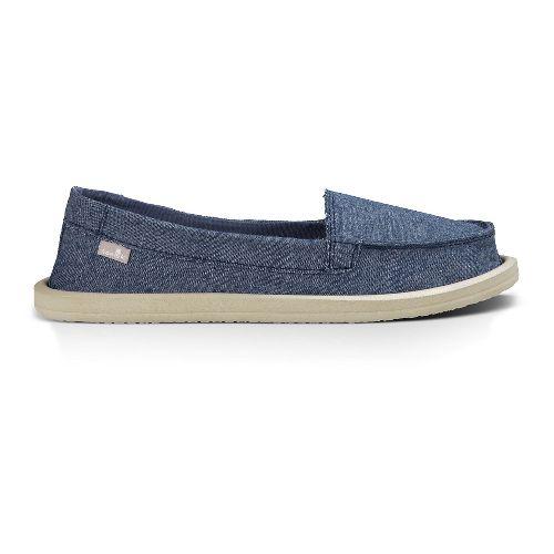 Womens Sanuk Shorty TX Casual Shoe - Slate Blue Chambray 9