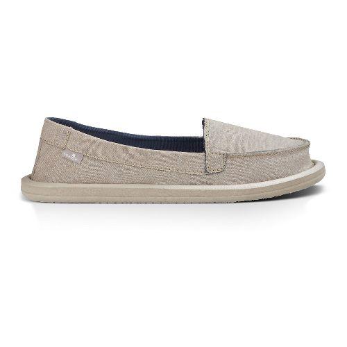Womens Sanuk Shorty TX Casual Shoe - Natural Chambray 11