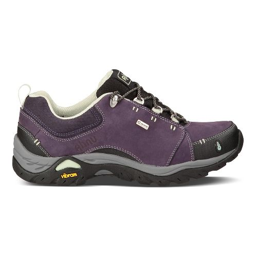 Womens Ahnu Montara II Waterproof Hiking Shoe - Nightshade 11