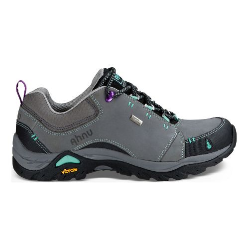 Womens Ahnu Montara II Waterproof Hiking Shoe - Dark Grey 10