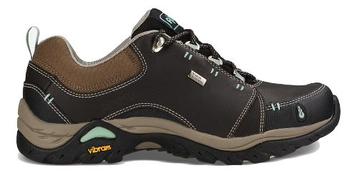 Womens Ahnu Montara II Waterproof Hiking Shoe - Smokey Brown 10.5