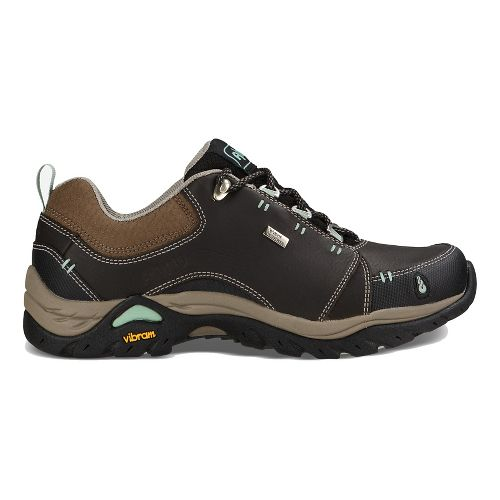 Womens Ahnu Montara II Waterproof Hiking Shoe - Smokey Brown 11