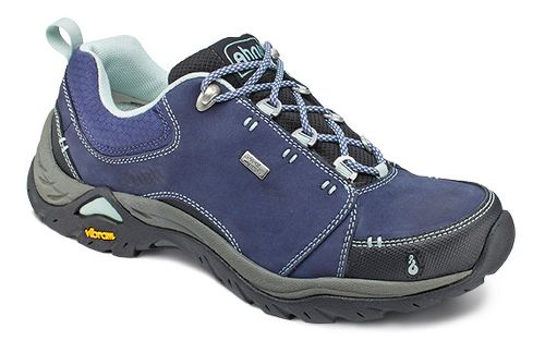 Womens Ahnu Montara II Waterproof Hiking Shoe - Midnight Blue 5