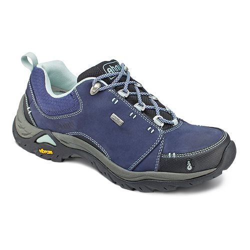 Womens Ahnu Montara II Waterproof Hiking Shoe - Midnight Blue 8