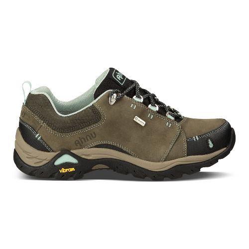 Womens Ahnu Montara II Waterproof Hiking Shoe - Forest Night 9