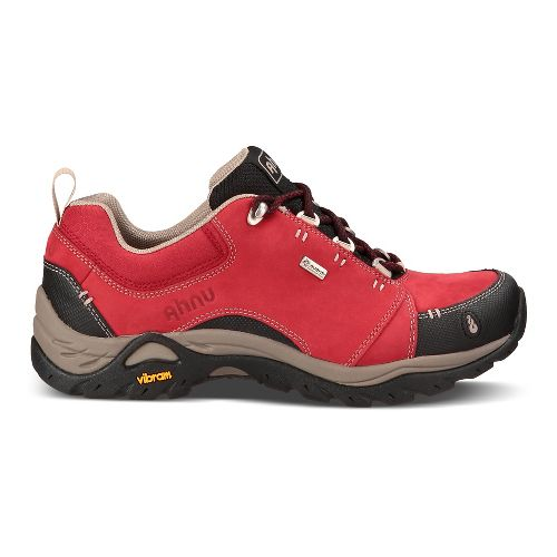 Womens Ahnu Montara II Waterproof Hiking Shoe - Red Dahlia 10.5