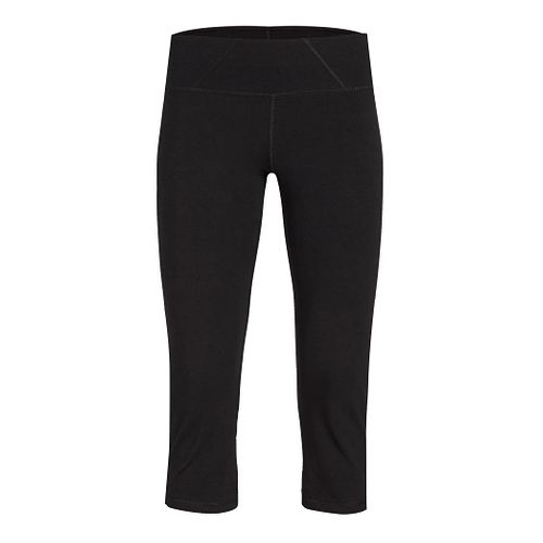 Womens Tasc Performance WOW 2 Fitted Capris Pants - Black M