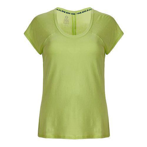 Womens Tasc Performance Zydeco T Short Sleeve Technical Tops - Limeade XL