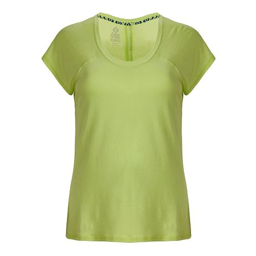 Womens Tasc Performance Zydeco T Short Sleeve Technical Tops - Limeade XS