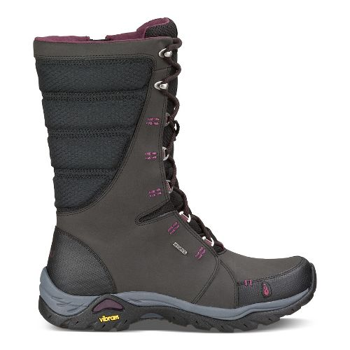 Womens Ahnu Northridge Hiking Shoe - Black 10