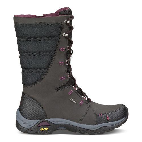Womens Ahnu Northridge Hiking Shoe - Black 9