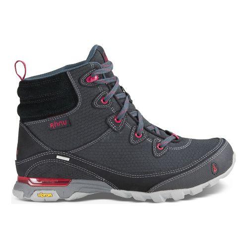 Womens Ahnu Sugarpine Boot Hiking Shoe - Black Basic 10.5