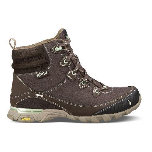 Womens Ahnu Sugarpine Boot Hiking Shoe - Mulch 9