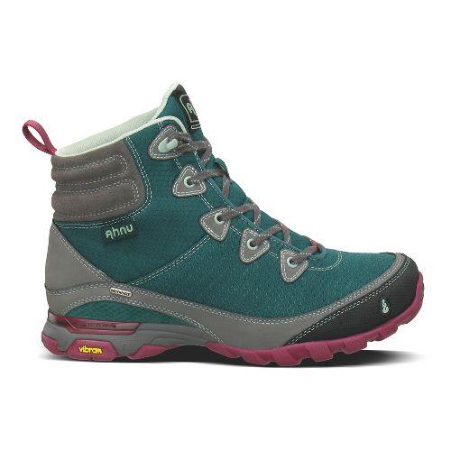 Womens Ahnu Sugarpine Boot Hiking Shoe - Deep Teal 10.5