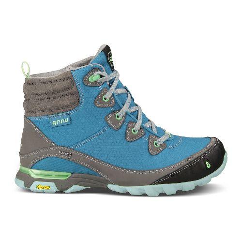Womens Ahnu Sugarpine Boot Hiking Shoe - Vallarta Blue 10.5