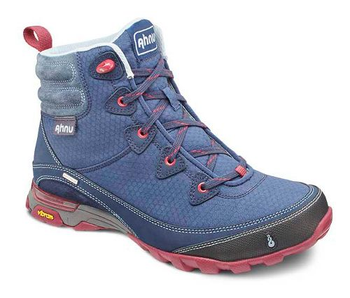 Womens Ahnu Sugarpine Boot Hiking Shoe - Blue Spell 6
