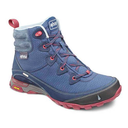 Womens Ahnu Sugarpine Boot Hiking Shoe - Blue Spell 10.5