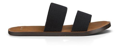 Womens Sanuk Yoga Gora Gora Sandals Shoe - Black 6
