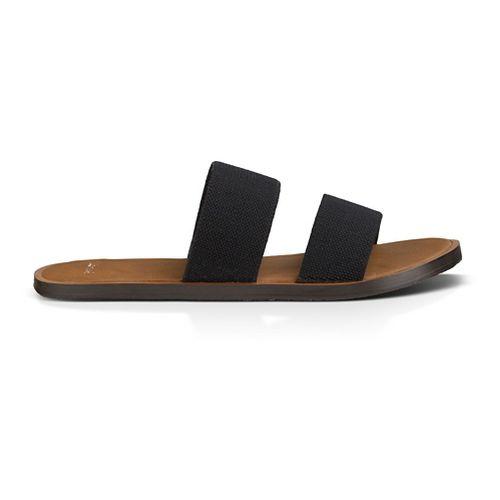 Womens Sanuk Yoga Gora Gora Sandals Shoe - Black 9
