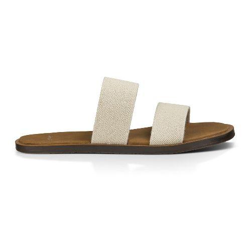 Womens Sanuk Yoga Gora Gora Sandals Shoe - Natural 11