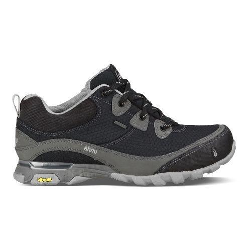 Womens Ahnu Sugarpine Hiking Shoe - New Black 6