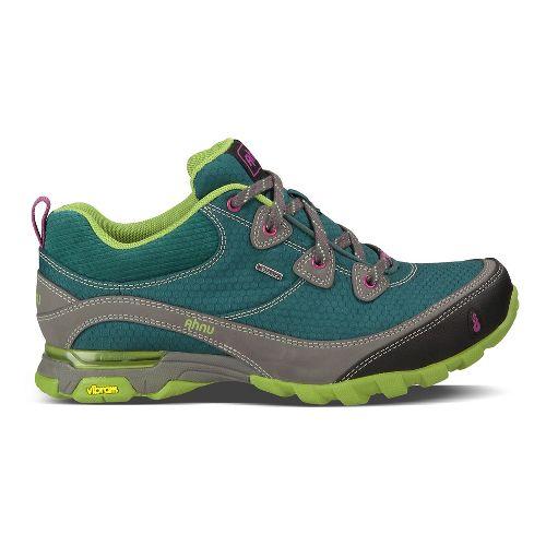 Womens Ahnu Sugarpine Hiking Shoe - Deep Teal 6.5