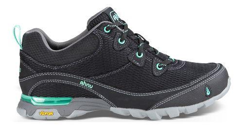 Womens Ahnu Sugarpine Air Mesh Hiking Shoe - New Black 6.5
