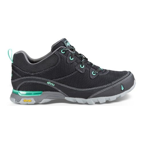Womens Ahnu Sugarpine Air Mesh Hiking Shoe - New Black 6.5