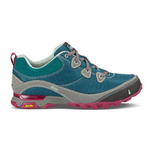 Womens Ahnu Sugarpine Air Mesh Hiking Shoe - Tropical Teal 7.5