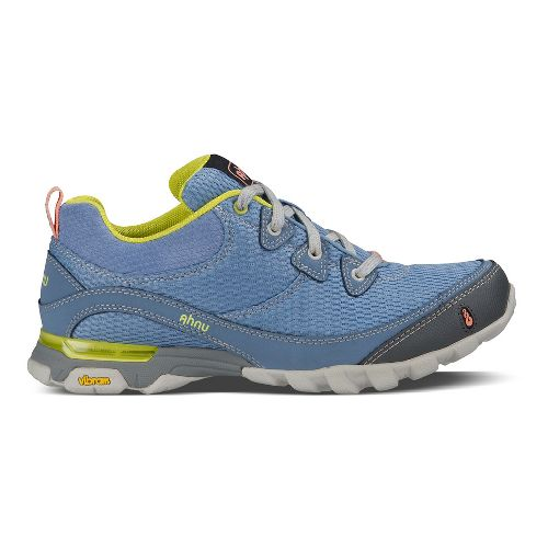 Womens Ahnu Sugarpine Air Mesh Hiking Shoe - Polar Sky 9.5