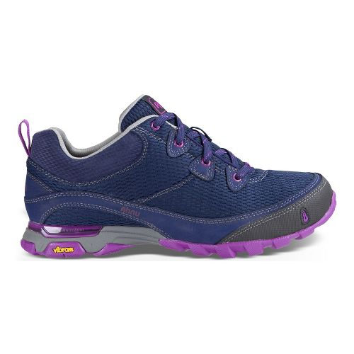 Womens Ahnu Sugarpine Air Mesh Hiking Shoe - Majestic Blue 10