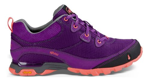 Womens Ahnu Sugarpine Air Mesh Hiking Shoe - Purple/Pink 6.5