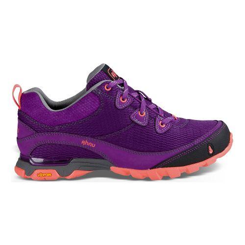Womens Ahnu Sugarpine Air Mesh Hiking Shoe - Purple/Pink 10.5