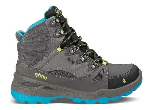 Womens Ahnu North Peak Event Hiking Shoe - Dark Grey 5