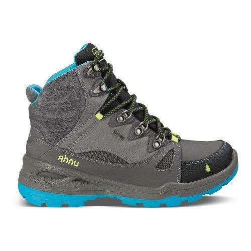 Womens Ahnu North Peak Event Hiking Shoe - Dark Grey 5.5