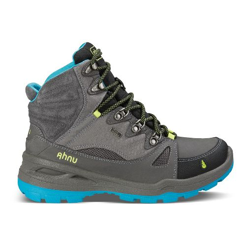 Womens Ahnu North Peak Event Hiking Shoe - Dark Grey 7.5