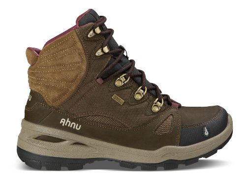 Womens Ahnu North Peak Event Hiking Shoe - Smokey Brown 7.5