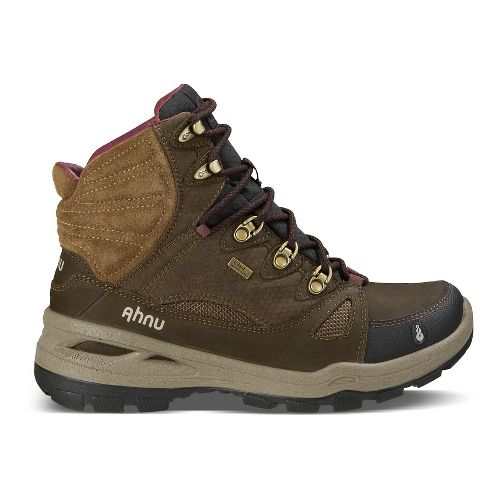 Womens Ahnu North Peak Event Hiking Shoe - Smokey Brown 10.5