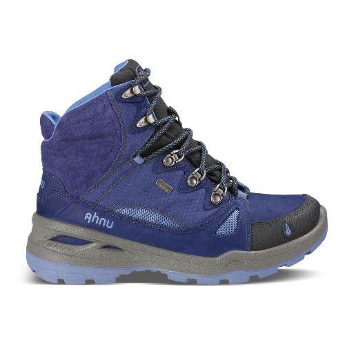 Womens Ahnu North Peak Event Hiking Shoe - Midnight Blue 9