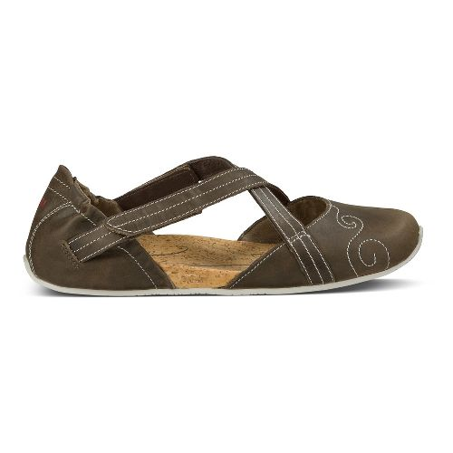 Womens Ahnu Karma Latitude Leather Casual Shoe - Alder Bark 8